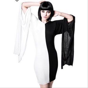 SALE!✨Devil & Angel Yin Yang Hooded Dress/ costume